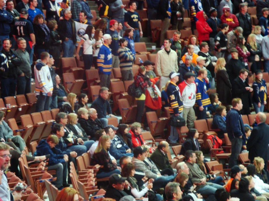 Play Count the Sabres Fans