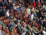 Count the Sabres Fans!  Find the Austrian Flag!